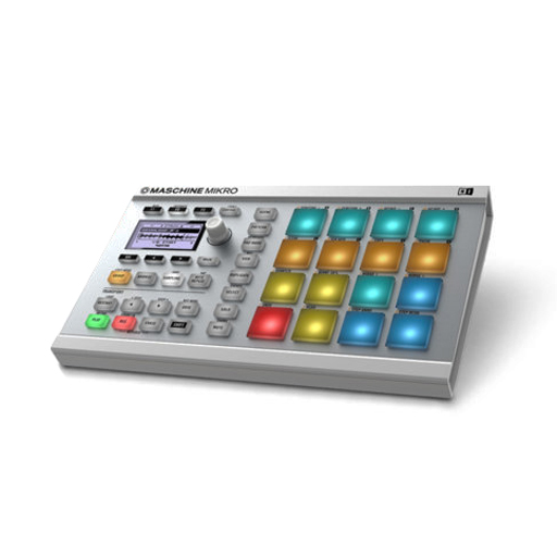 Native Instruments Maschine Mikro MK2, White - Bananas at Large - 1