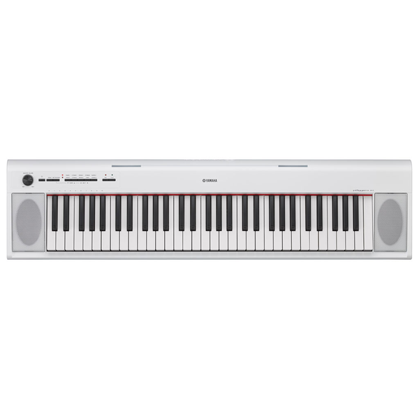 Yamaha NP-12 Piaggero 61 Key Digital Piano - White - Bananas at Large - 1