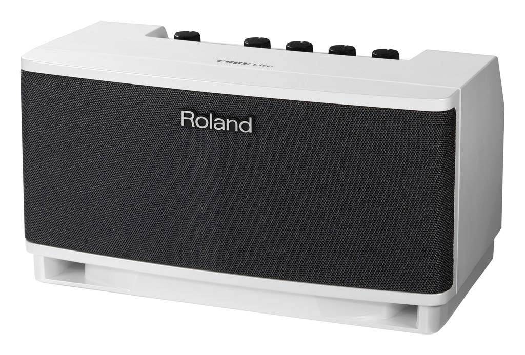 Roland CUBE-LT-WH Counter Top Amplifier 10-Watt 2.1 System White - Bananas at Large