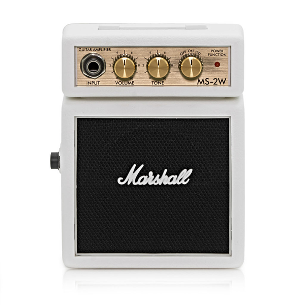 Marshall MS-2W Limited Edition Mini Amp - White - Bananas at Large