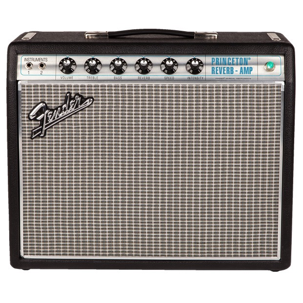 Fender 68 Custom Princeton Reverb 1x10, 12-Watt Tube Combo - Bananas At Large®