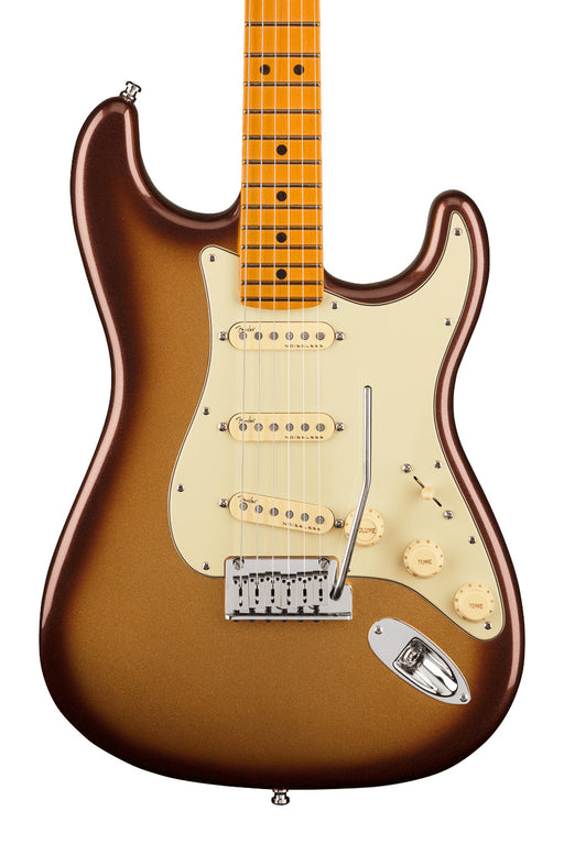 Fender American Ultra Stratocaster with Maple Fingerboard - Mochaburst