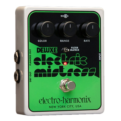 Electro-Harmonix Deluxe Electric Mistress XO Analog Flanger - Bananas At Large®