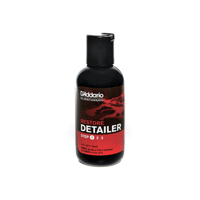 D'Addario Restore - Deep Cleaning Polish, Step 1 of 3, 4oz