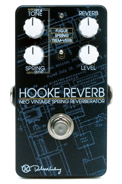 Keeley Hooke Reverb Pedal - Bananas at Large