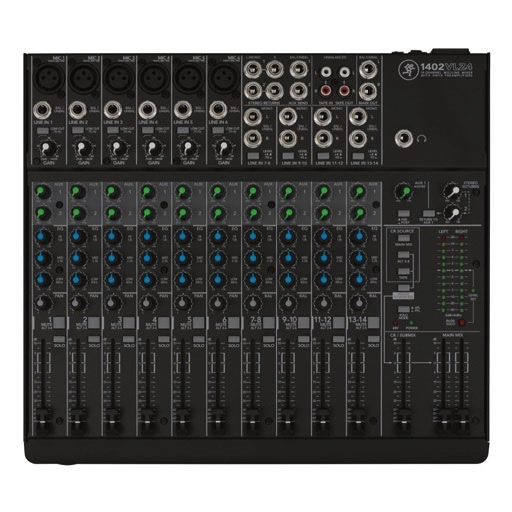 Mackie 1402VLZ4 VLZ 14-Channel Compact Mixer - Bananas at Large