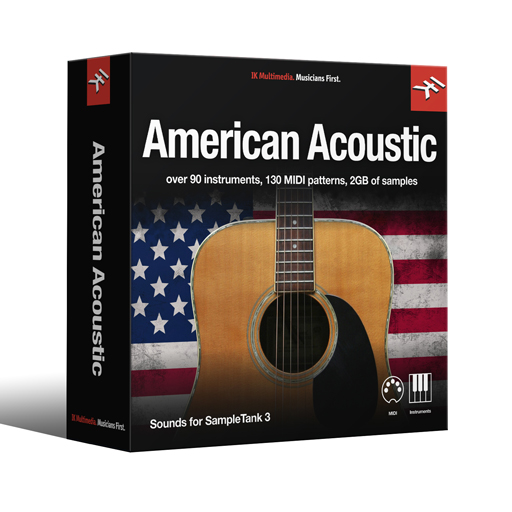 IK Multimedia IN-AMAC-DID-IN ST3 - American Acoustic American Acoustic Library [Download] - Bananas at Large