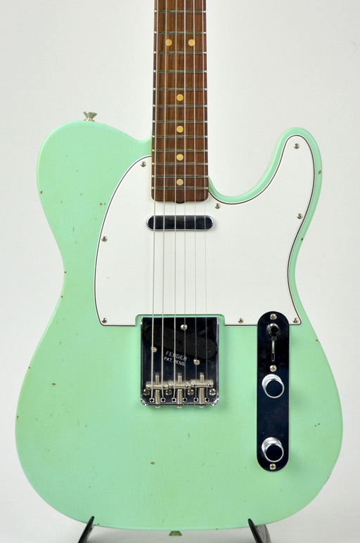 Fender Custom Shop 60's Tele Journeyman Relic/Closet Classic Hardware - Aged Surf Green