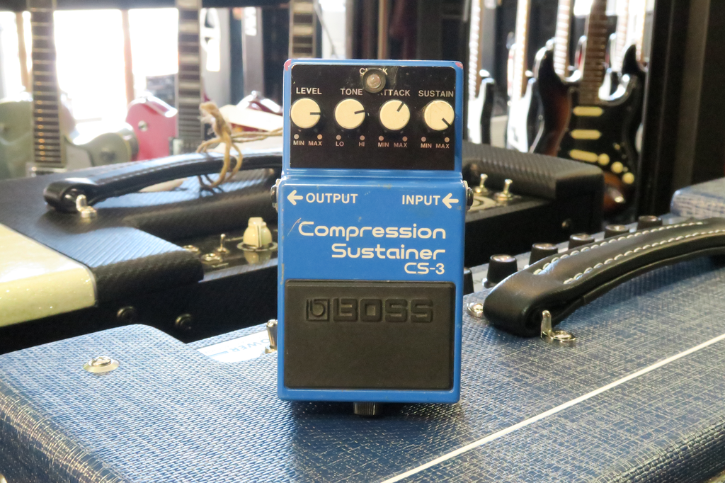 Boss CS-3 Compression Sustainer Pedal (Pre-Owned) - Bananas At Large®