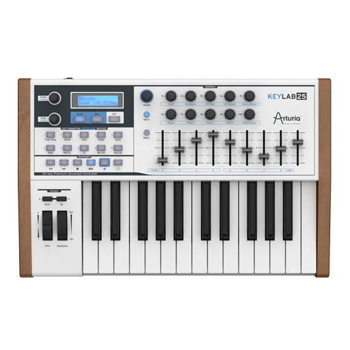 Arturia Keylab 25 USB/MIDI Controller Keyboard - Bananas at Large