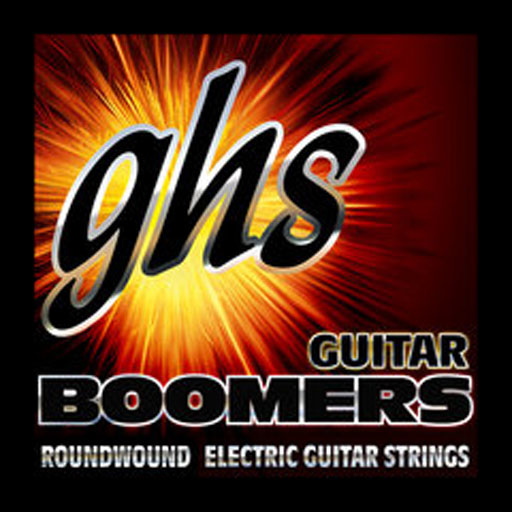 GHS GBH Boomers 6-String Electric Guitar Strings Heavy - Bananas At Large®