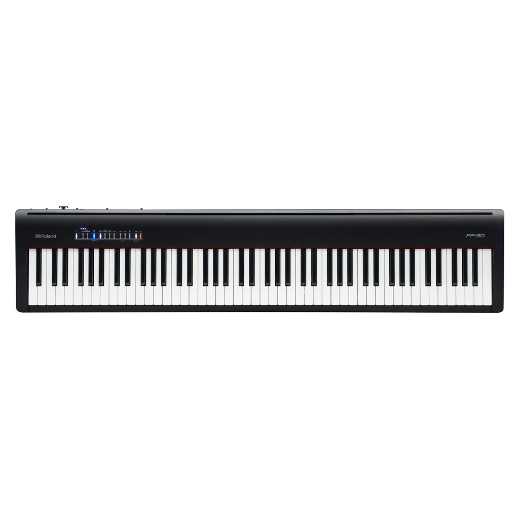Roland FP-30 88 Key Digital Piano with Supernatural Sound Engine and Bluetooth - Black - Bananas at Large