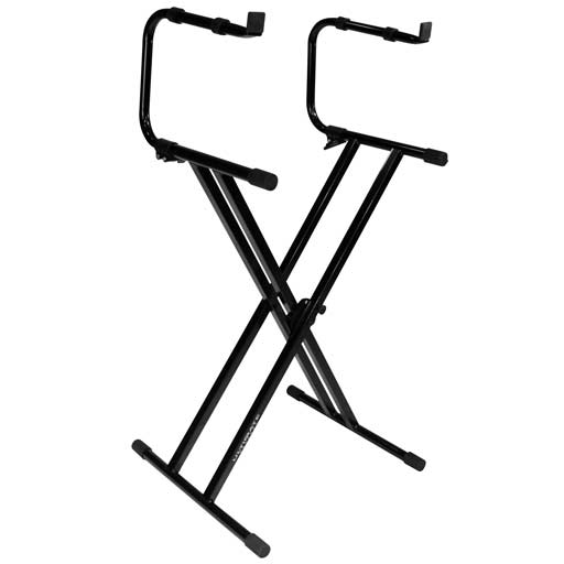 Ultimate Support IQ-2200 Two-Tier IQ Series X-style Keyboard Stand - Bananas at Large