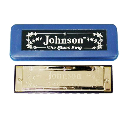 Johnson Blues King Harmonica, Key Of D - Bananas at Large