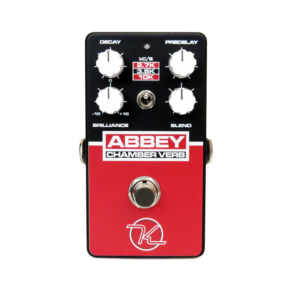 Keeley Abbey Chamber Verb Vintage Reverb Pedal - Bananas at Large