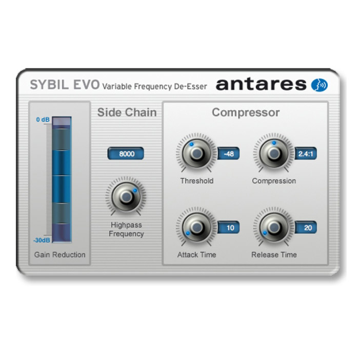 Antares 143589 Sybil Evo De-Esser Plug-In [Download] - Bananas At Large®