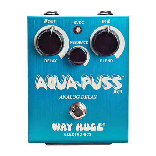 Way Huge WHE701 Aqua Puss Analog Delay Pedal - Bananas at Large