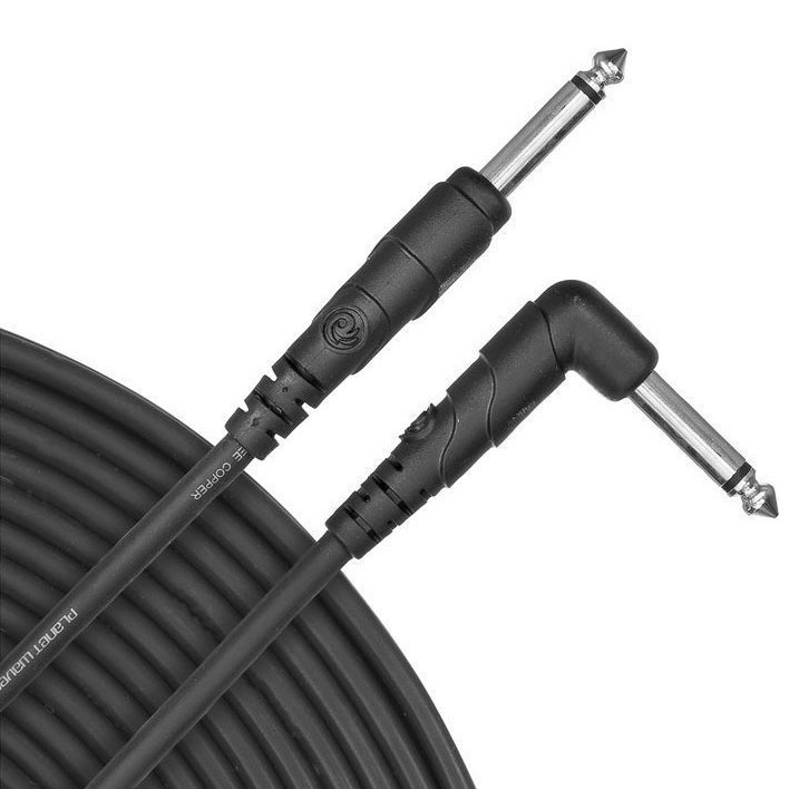 Planet Waves PW-CGTRA-20 Classic Series 20ft. Instrument Cable with Right Angle Plug - Bananas at Large