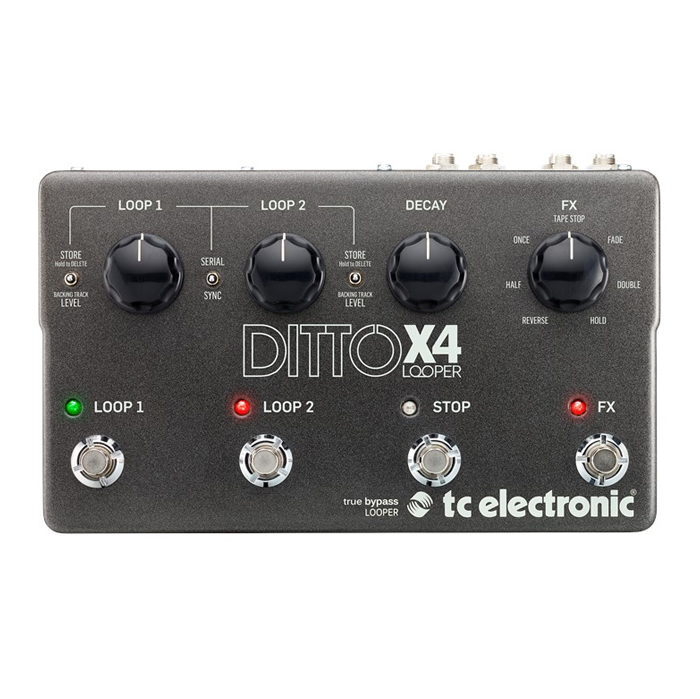 TC Electronic Ditto X4 Looper - Bananas at Large - 1
