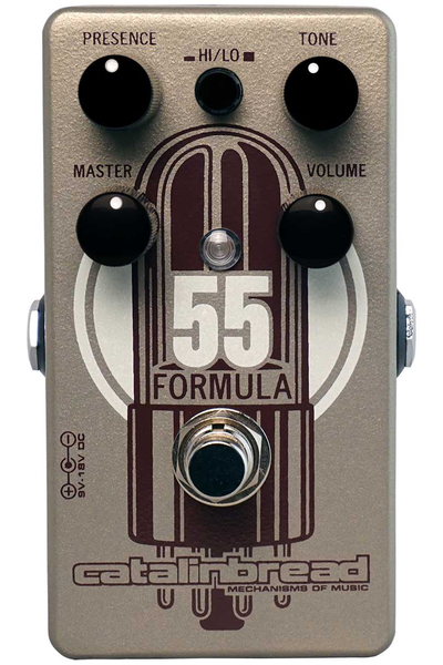 Catalinbread FORMULA NO. 55  Vintage Fender Tweed Amp Pedal