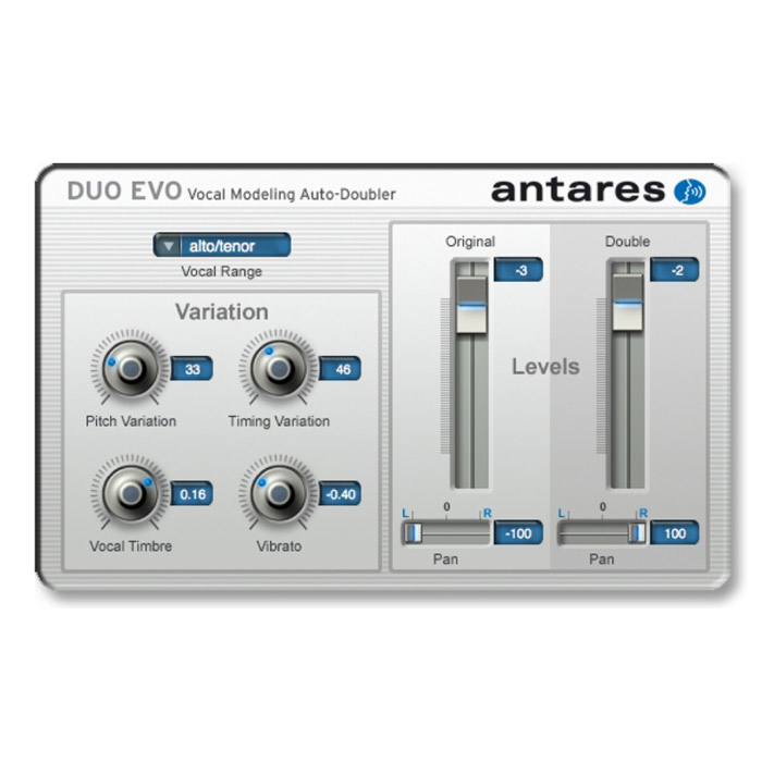 Antares 143587 Duo Evo Auto-Doubler Plug-In [Download] - Bananas At Large®