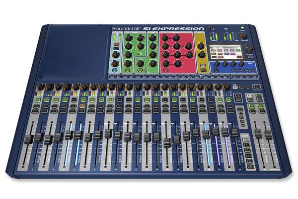 Soundcraft Si Expression 2 24 Channel Digital Mixer (Demo Unit No Box)