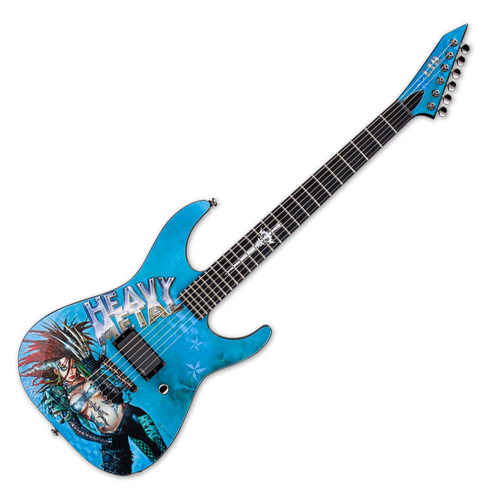 ESP Heavy Metal 1 Graphic Series Limited Edition Guitar (Clearance All Sales Final) - Bananas At Large®