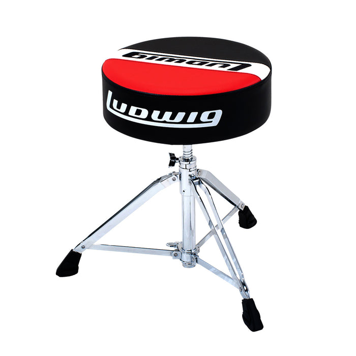 Ludwig Round Throne - Atlas Pro Red/Black
