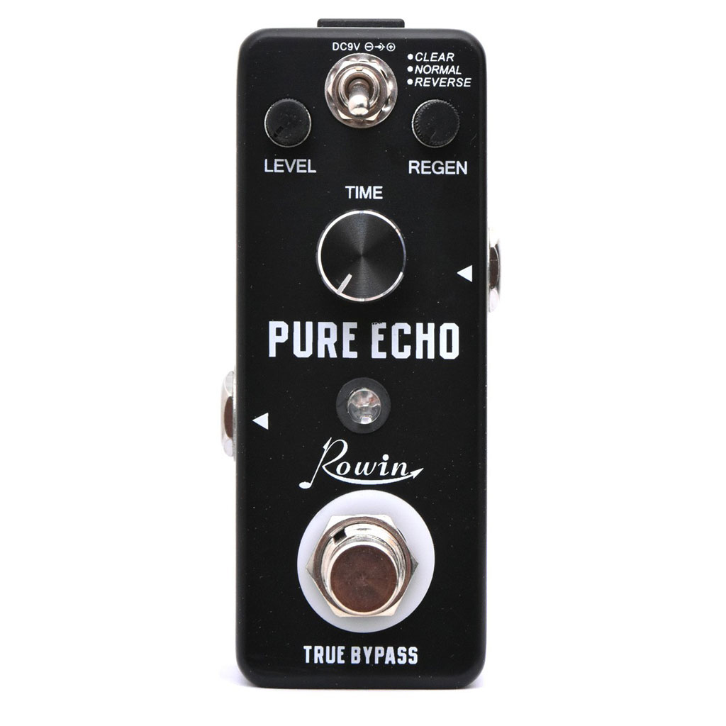 Rowin LEF-3803 Pure Echo Digital Delay Pedal Upgraded - Bananas at Large