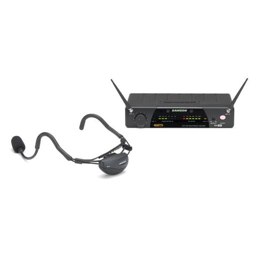 Samson SW7AVSCV10 AirLine 77 Wireless System Vocal Headset - Bananas at Large