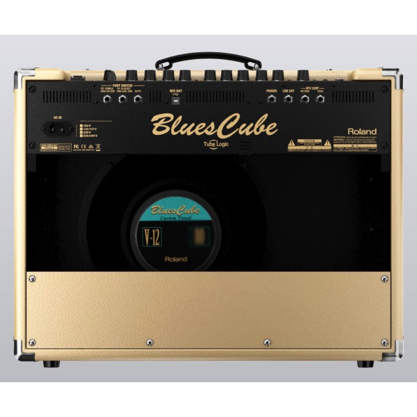 Roland Blues Cube STAGE Guitar Amp 60-Watt Tube Logic - Bananas at Large - 3