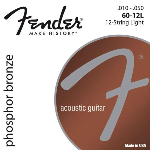 Fender Phosphor Bronze 12-String Acoustic Guitar String - Bananas at Large