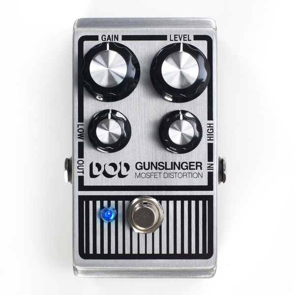 Digitech Gunslinger DOD Mosfet Distortion Pedal - Bananas At Large®