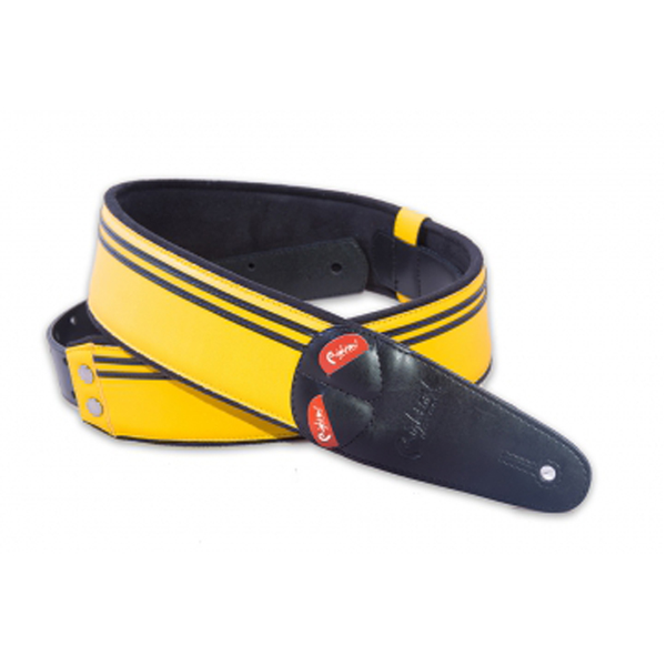 RightOn! Mojo Guitar Strap Race Yellow - Bananas at Large