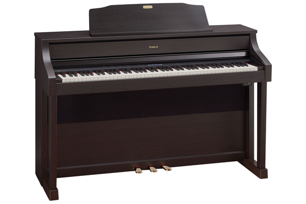 Roland HP-508 SuperNATURAL Digital Piano with Stand and Bench - Rosewood