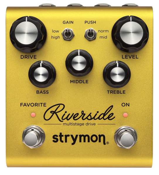 Strymon Riverside Multistage Drive Pedal - Bananas at Large - 1