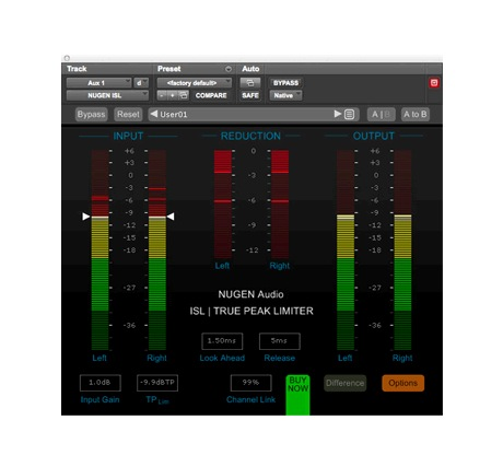 NUGEN Audio ISL True Peak Limiter [Download] - Bananas at Large