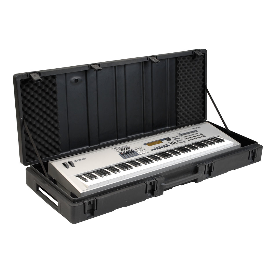 SKB 1SKB-R6020W Roto Molded 88 Note Keyboard Case - Bananas at Large - 2