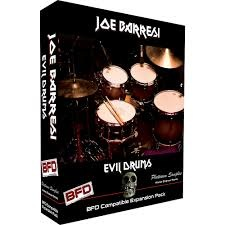 PLATINUMSAMPLES Joe Barresi Evil Drums [Download] - Bananas at Large