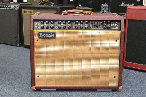 Mesa/Boogie Mark V 1x12 Combo Vintage Bordeaux, Cream/Tan Grille, Tan Piping, Tan Corners, tan handle