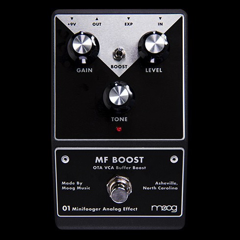 Moog MFS-BOOST-02 Minifooger MF Boost Pedal - Bananas at Large - 1