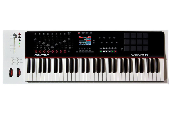 Nektar Panorama P6 61-Note USB Keyboard Controller - Bananas at Large - 1