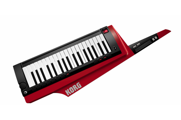 Korg RK-100S Keytar with MMT - Red - Bananas at Large