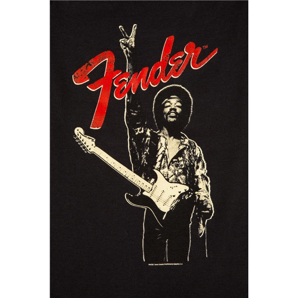 Fender Jimi Hendrix Onesie, Black, 12 Months - Bananas At Large®