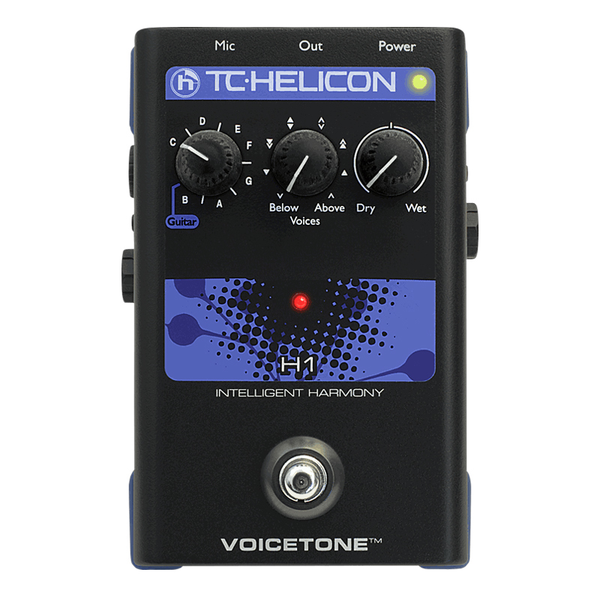 TC Helicon VoiceTone H1 Harmony Vocal Effects Pedal - Bananas at Large - 1