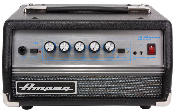Ampeg Micro VR Head 200 Watt Bass Amp Head - Bananas At Large®
