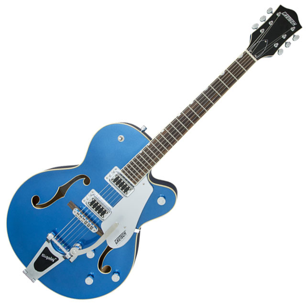 Gretsch G5420T Electromatic Hollow Body Single-Cut with Bigsby - Fairlane Blue - Bananas At Large®
