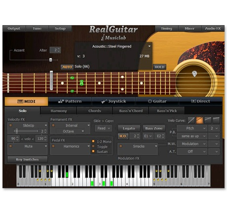 MusicLab RealGuitar Rhythm Guitar Accompaniment plug-in [Download] - Bananas at Large