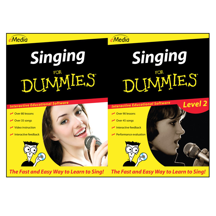 Emedia FD09149DLM Singing For Dummies Deluxe - Macintosh [Download] - Bananas at Large