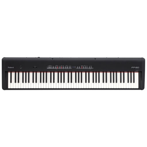 Roland FP-50 88-Key Digital Piano Black - Bananas at Large